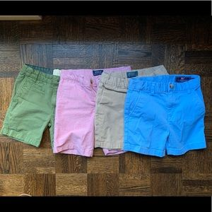 Lot of 4T shorts Polo, vineyard vines, mini Boden